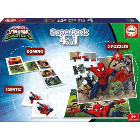 Комплект 4 в 1 SUPERPACK SPIDER-MAN