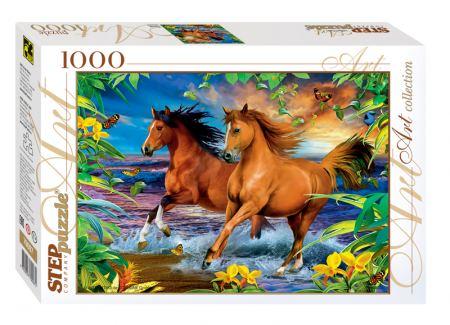 Пъзел Horses 1000 елемента