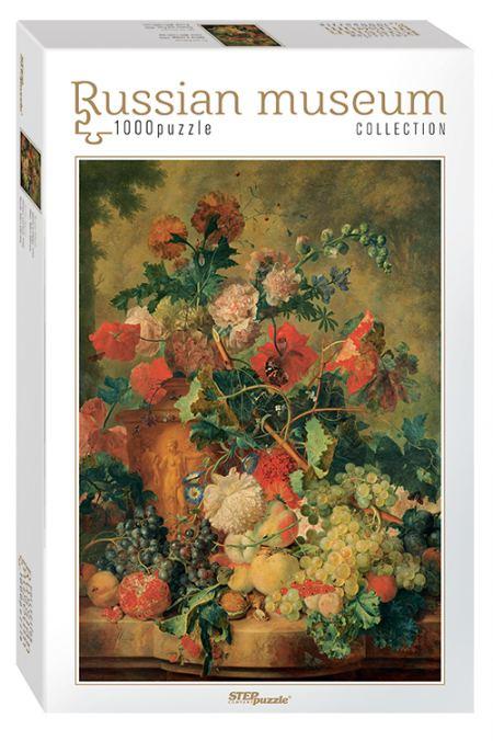 Пъзел Jan van Huysum. Flowers and Fruit  (Russian Museum Collection) 1000 елемента