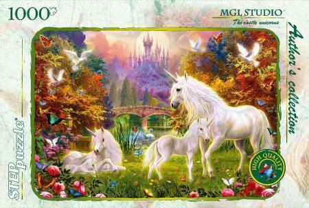 Пъзел The castle unicoru 1000 елемента