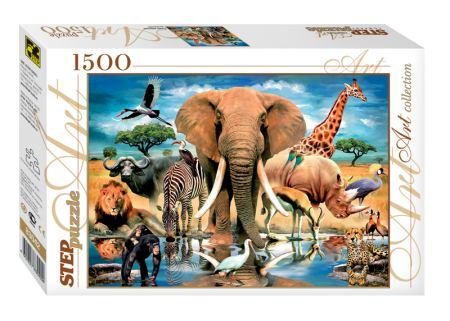 Пъзел World of animals 1500 елемента