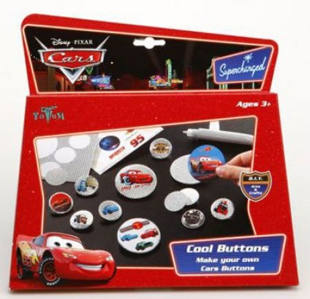 Направи си сам Значка CARS COOL BUTTONS